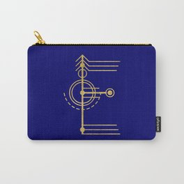 Sacred Geometry Letter E Carry-All Pouch