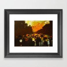 Sentimental Violence Framed Art Print