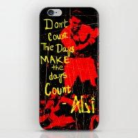 ali gulec iPhone & iPod Skins featuring Ali by Maxim Garg