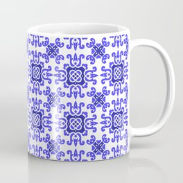 Classic European Blue Tiles Coffee Mug