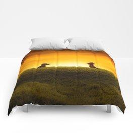 """""""El Encuentro"""" Comforters"""