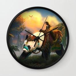 Pandarider Wall Clock