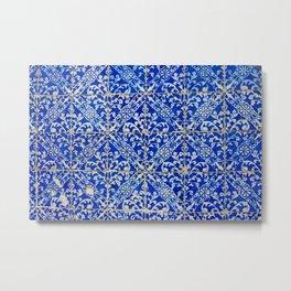 azulejos wall Metal Print