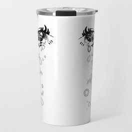 Crystal Tears Anime Eyes Travel Mug
