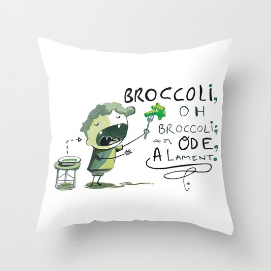 Ode Throw Pillow