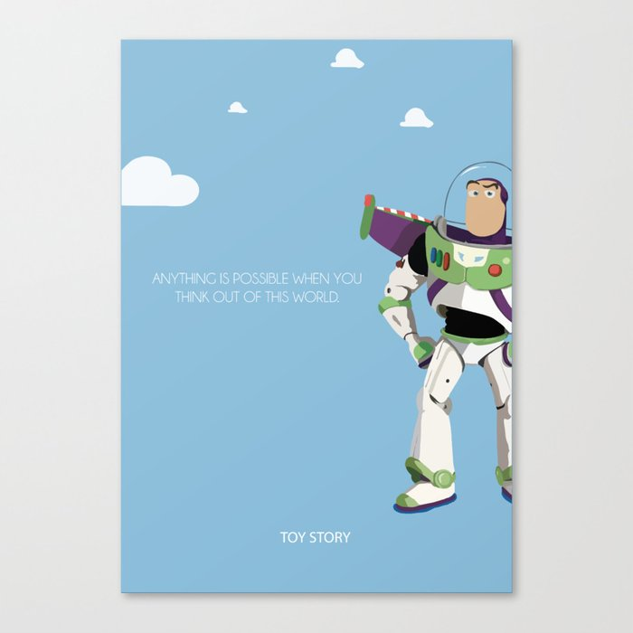 Buzzing Around Canvas Print