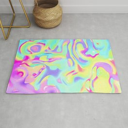 Constructive character Trippy Rug