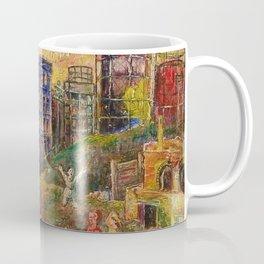 The Edge of City - Bronx by David Burliuk Coffee Mug