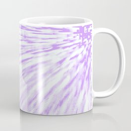 Lavender. Pixel Wind Coffee Mug