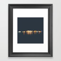 lights ... Framed Art Print
