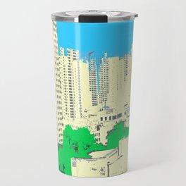 Brick Forest Travel Mug