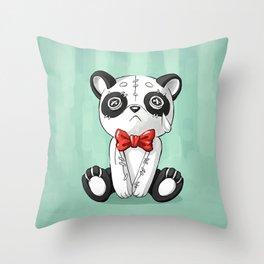 Panda Doll Throw Pillow