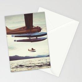 Alaskan Float Planes Stationery Cards