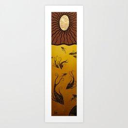 GoldenLight Art Print