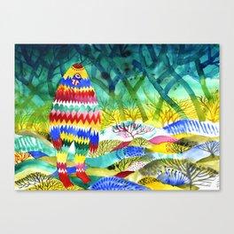 Zigzagman Canvas Print