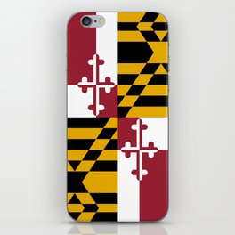 State flag of Flag Maryland iPhone Skin