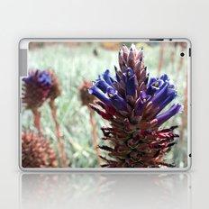Purple  Flower  Spikes Laptop & iPad Skin