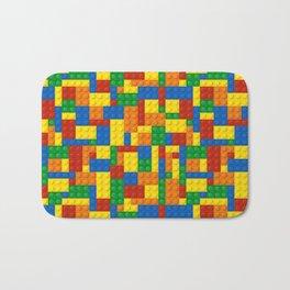 Colored Building Blocks Bath Mat