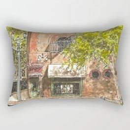 Nashville street corner Rectangular Pillow