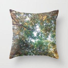 Forest 011 Throw Pillow