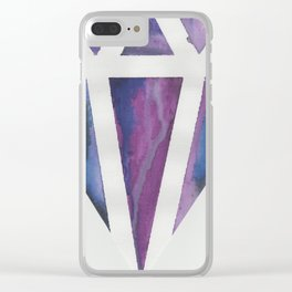 Perfectly Imperfect Jewel Clear iPhone Case