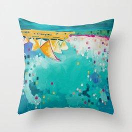 Downunder Throw Pillow