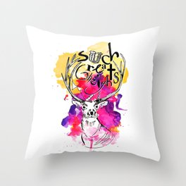Such Great Heights Throw Pillow