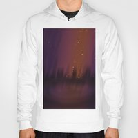 theater Hoodies featuring Purple Theater by Thedustyphoenix