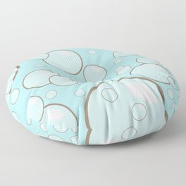 Bubbles Splish Splash Floor Pillow