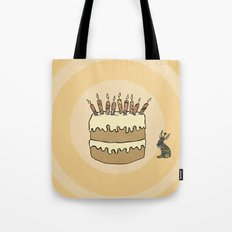 RABBIT CAKE Tote Bag
