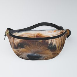 Cute Dog Puppy Yorkie Fanny Pack