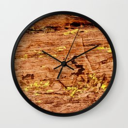 red walls Wall Clock