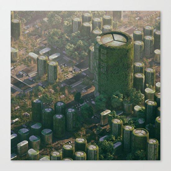 Chip City Canvas Print