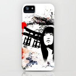 Japanese Geisha Warrior iPhone Case