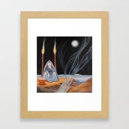 Hecate - Full Moon - Halloween 2014 Framed Art Print