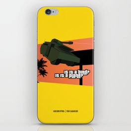 Flying Tank iPhone Skin