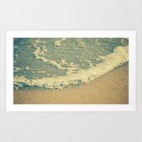 swimming Art Prints featuring Swimming by MundanalRuido