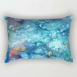 Blue Souls Rectangular Pillow
