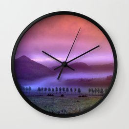 Landscape Wall Clock
