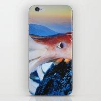 cthulhu iPhone & iPod Skins featuring Cthulhu by John Turck