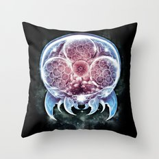 The Epic Metroid Throw Pillow
