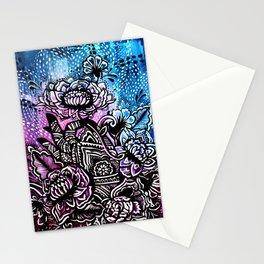 Henna Lotus Hand Stationery Cards