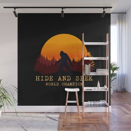 Bigfoot - Hide and Seek World Champion Wall Mural