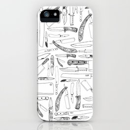 Knifes iPhone Case