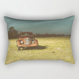 Lost In Time Truck Travel Rectangular Pillow