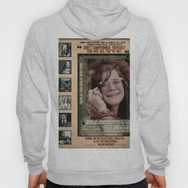 JA-NIS JOPLIN Quote Lyrics Hoody