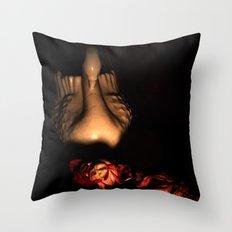 Dead Romance Throw Pillow