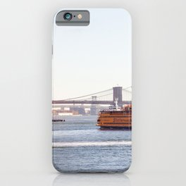Staten Island Ferry to Manhattan iPhone Case