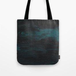 Dark Teal Sea Tote Bag