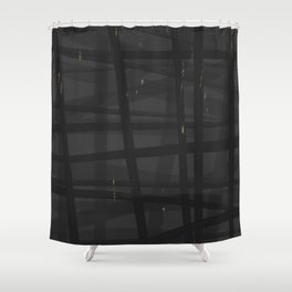 Mistake B Plaid Shower Curtain